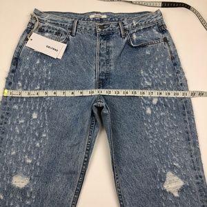 GRLFRND Jeans - NWT GRLFRND Helena High Waist Straight Jeans